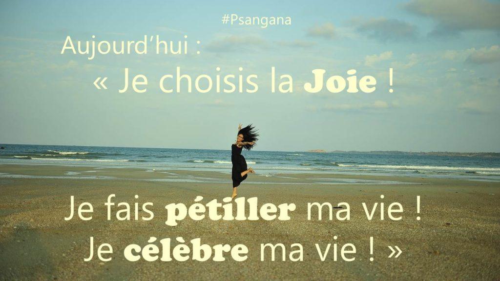 Je choisis la joie